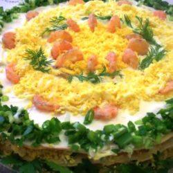 Наполеон торт закусочный