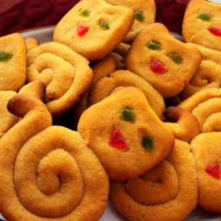 Вкусное песочное печенье «Кошечки»