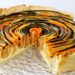 Овощной пай - пирог из баклажанов