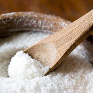 Поваренная и йодированная соль