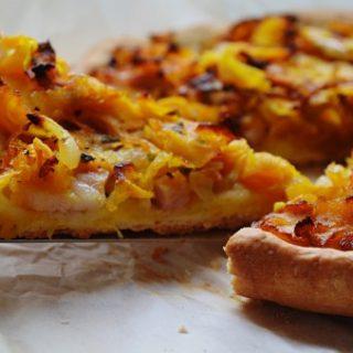Тыквенная песочная пицца