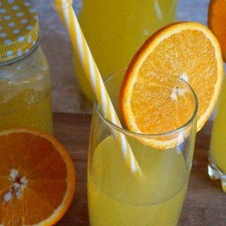 Цитрусовый морс из лимона и апельсина - витаминный зимний напиток