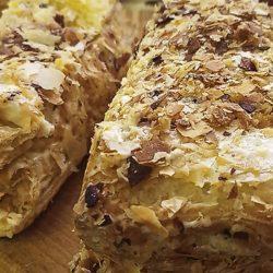 Наполеон: слоеное тесто и очень вкусный крем